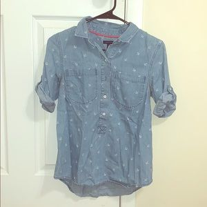 Tommy Hilfiger anchor  Button up